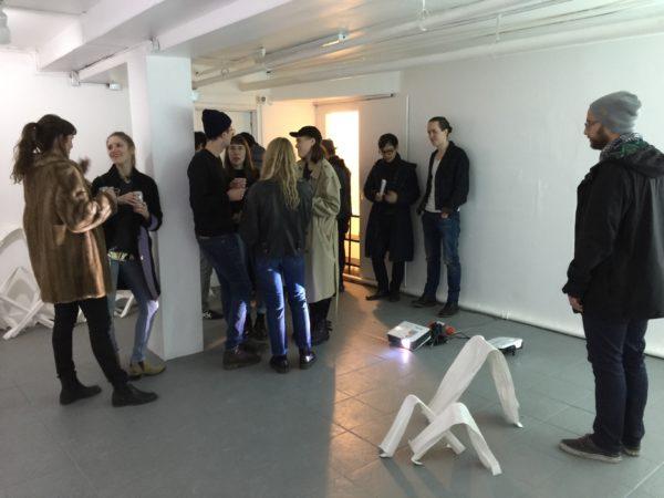 CLAPBACK 1. PARALLAX: MORGANA - Opening Reception